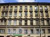 Гороховая ул., д. 56. Бывший доходный дом. Фрагмент фасада здания. Фото июль 2009 г.