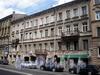 Гороховая ул., д. 58. Бывший доходный дом. Фасад здания. Фото июль 2009 г.