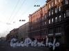 Перспектива четной стороны Гороховой улицы от дома 64 в сторону набережной реки Фонтанки. Фото апрель 2009 г.