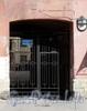 Гороховая ул., д. 62. Бывший доходный дом. Решетка ворот. Фото июль 2009 г.
