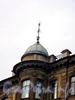 Гороховая ул., д. 64. Доходный дом А. В. Бадаевой и М. П. Тимофеевой. Флюгер. Фото май 2004 г.