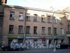 Гороховая ул., д. 66 (левая часть). Фасад здания. Фото апрель 2009 г.