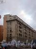Ул. Декабристов, д. 29.жилой дом работников Союзверфи. Общий вид здания. Фото ноябрь 2009 г.