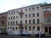 Ул. Декабристов, д. 41. Бывший доходный дом. Фасад здания. Фото ноябрь 2009 г.