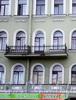 Ул. Декабристов, д. 50. Бывший доходный дом. Фрагмент фасада здания. Фото ноябрь 2009 г.