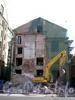 Ул. Декабристов, д. 54, лит. А. Эстонская лютеранская церковь Св. Иоанна. Начало работ по реставрации здания. Фото 15 августа 2009 г.