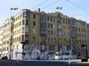 Гаванская ул., д. 2 / Большой пр. В.О., д. 97. Доходный дом Д. Ш. Каценеленбогена. Общий вид здания. Фото сентябрь 2009 г.