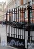 Кирочная ул., д. 8. Решетка калитки ворот. Фото сентябрь 2009 г.
