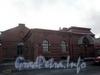Пеньковая ул., д. 8. Здания комплекса построек Фильтроозонной станции. Фасады по Петроградской набережной. Фото март 2009 г.