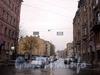 Перспектива улицы Профессора Ивашенцова от Невского проспекта в сторону Миргородской улицы. Фото октябрь 2008 г.