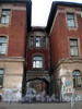 Ул. Профессора Ивашенцова, д. 5. Здание городского изоляционного дома. Средняя часть здания. Фото ноябрь 2008 г.