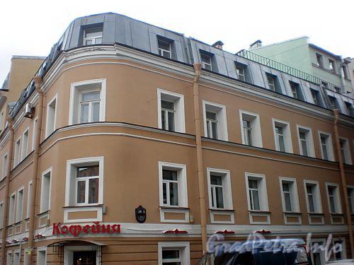 Канонерская ул., д. 25 / Английский пр., д. 48 (правая часть). Фасад по улице. Фото август 2009 г.