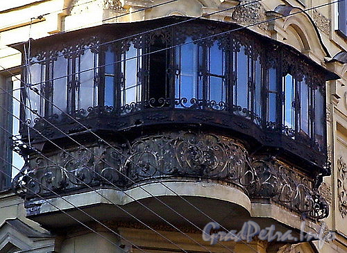 Балкон одной из квартир