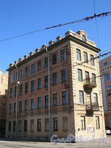 Ул. Котовского, д. 1 (правая часть). Общий вид правого корпуса. Фото август 2009 г.