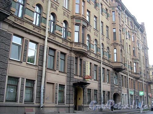Фрагмент фасада здания.