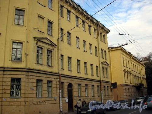улица Профессора Попова, дом 33. Общий вид дома от Вяземского пер.