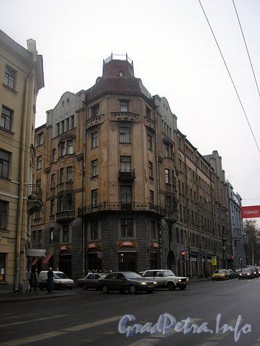 Профессора Попова ул., дом 31. вид с Каменноостровского проспекта