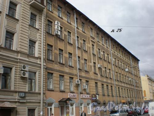 Заставская ул., д.25, общий вид здания. Фото 2008 г.