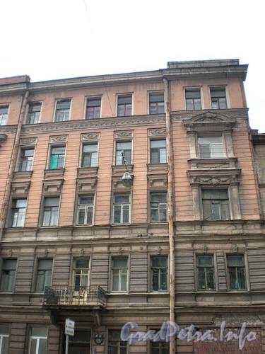 Тележная ул., д. 29, фрагмент фасада здания. Фото 2008 г.