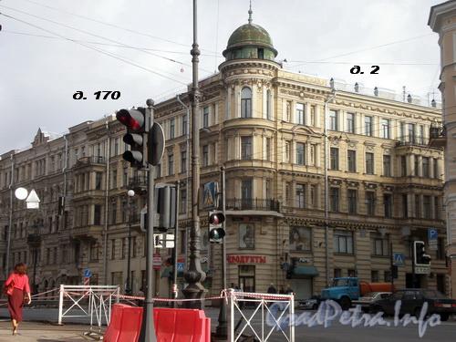 Исполкомская ул., д. 2/Невский пр., д.д. 170. Фото 2008 г.