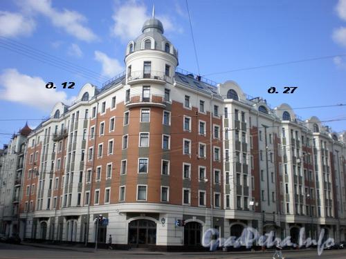 Исполкомская ул., д. 12/Херсонская ул., д. 27, общий вид здания. Фото 2008 г.