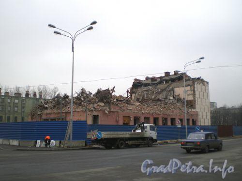Снос кинотеатра Зенит с сайта http://www.ljplus.ru