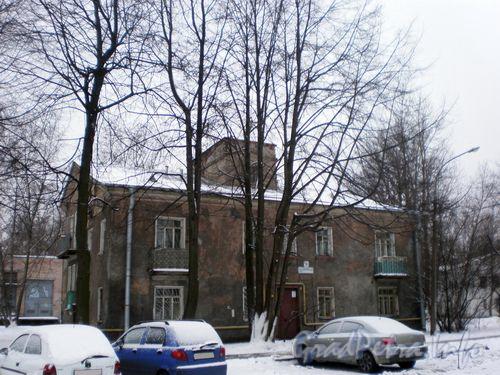 Задворная ул., д. 6. Общий вид здания. Январь 2009 г.