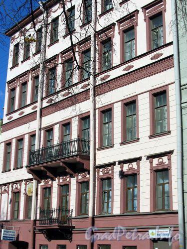 Фурштатская ул., д. 54. Фасад здания. Март 2009 г.