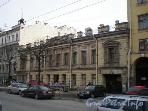 Ул. Чайковского, д. 45. Фасад здания. Апрель 2009 г.