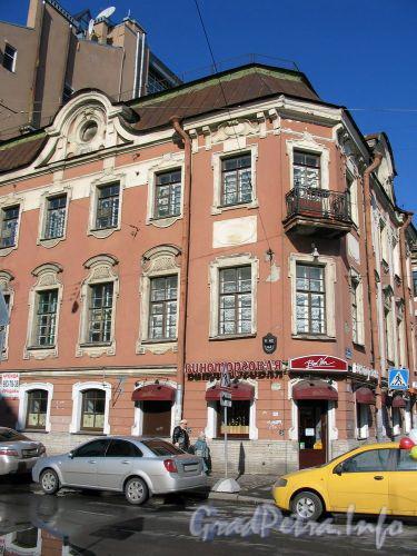 Фурштатская ул., д. 62 / Потемкинская ул. д. 9. Вид с Фурштатской улицы. Март 2009 г.