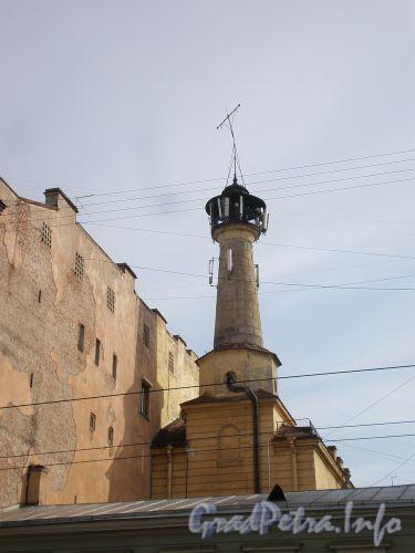 Ул. Чайковского, д. 49. Каланча «Сергиевской» пожарной части. Апрель 2009 г.