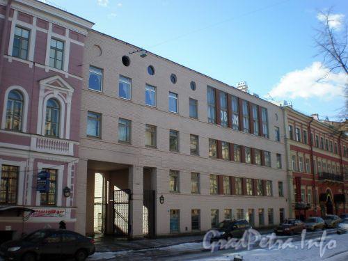 Фурштатская ул., д. 35-35А. Детский сад № 15 Центрального района. Март 2009 г.