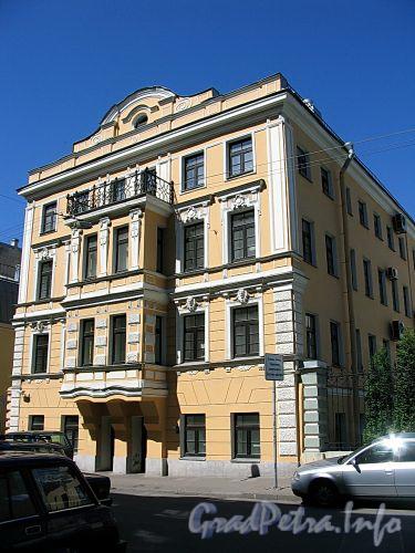 Ул. Достоевского, д. 19. Бывший доходный дом. Фасад здания. Фото июль 2009 г.