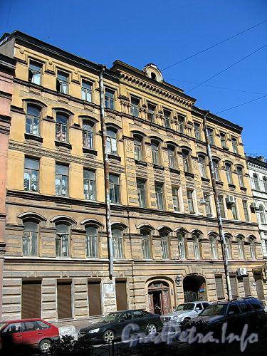 Ул. Достоевского, д. 23. Бывший доходный дом. Фасад здания. Фото июль 2009 г