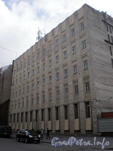 Курляндская ул., д. 10. Производственное здание. Фото июль 2009 г.