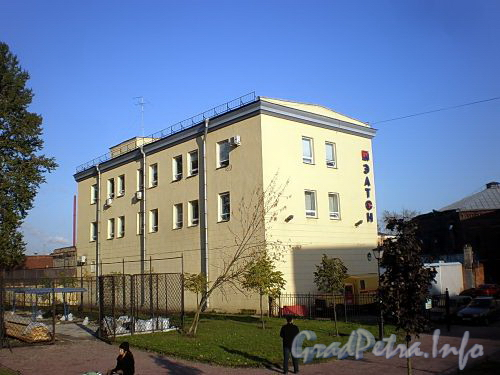 пр. Лиговский, дом 60-62, лит. Я. Офисное и производственное здание компании «ЭЛТОН». Общий вид дома. Фото октябрь 2009 г.