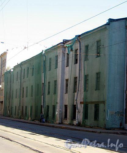 Ул. Чапаева, д. 7. Здание бывших бань. Фасад здания. Фото август 2009 г.