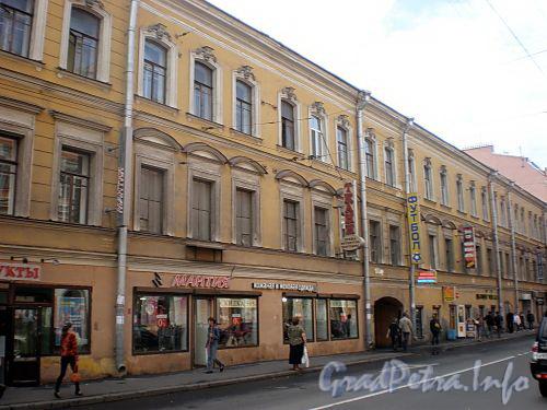 Гороховая ул., д. 41. Доходный дом Дурышкина. Общий вид здания. Фото август 2009 г.