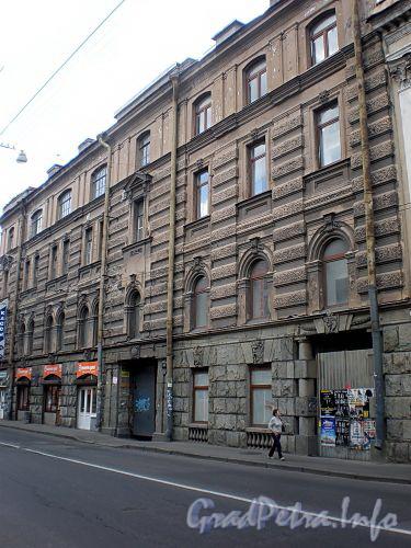 Гороховая ул., д. 47. Здание Компании для хранения и залога движимых имуществ. Общий вид здания. Фото июль 2009 г.