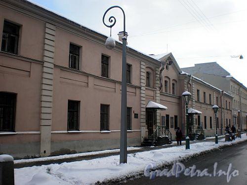 Одесская ул., д. 1. Мастерская А. Н. Лодыгина и Музей фонарей. Фото февраль 2009 г.