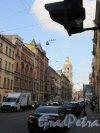 Колокольная ул. Вид улицы с ул. Марата в сторону Владимирской пл. фото сентябрь 2017 г.
