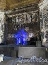 Кирочная ул., д. 8б. Евангелическо-лютеранская церквь Св. Анны. Временный алтарь. фото октябрь 2017 г.