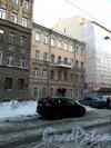 Серпуховская улица, дом 8. 4-этажный жилой дом 1883 года постройки. Год проведения реконструкции 1982. 1 парадная, 7 квартир. Фото 31.01.2019 года.