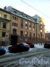 Серпуховская улица, дом 18. 5-этажный жилой дом 1994 года постройки. 2 парадные, 39 квартир. Фото 31.01.2019 года.