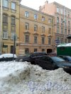 Серпуховская улица, дом 9. 4-этажный жилой дом 1861 года постройки. 2 парадные, 7 квартир. Фото 31.01.2019 года.