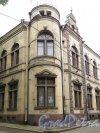 Прогонная ул. (Выборг), д. 9. Здание АО «Аннискелу». Угловой фасад. фото октябрь 2017 г.