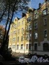 Садовая ул. (Выборг), д. 3. Жилой дом в стиле модерн. Фронтальный фасад. фото октябрь 2017 г.