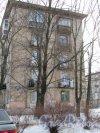 Ул. Ольминского, д. 20. Серийный 5-ти этажный жилой дом. Боковой фасад. фото март 2018 г.
