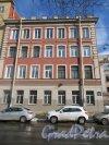 Ул. Котовского, д. 1. Жилой дом (левый корпус). Общий вид фасада по ул. Котовского. фото март 2018 г.