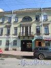 Гагаринская ул., д. 16. Центральная часть фасада. фото апрель 2018 г.